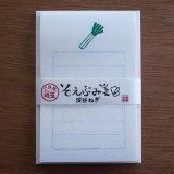 【限定】そえぶみ箋/深谷ねぎ/古川紙工